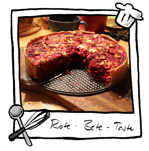 Rote-Bete-Tarte